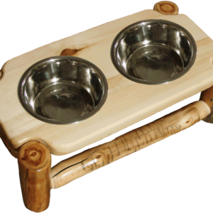 Aspen Log Pet Feeder