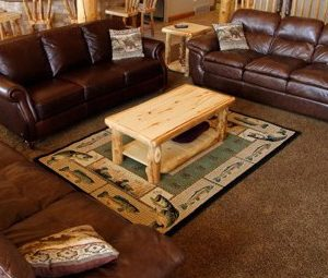 Aspen Log Standard Coffee Table