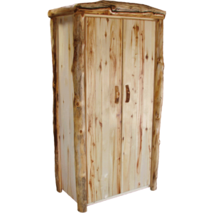 Aspen Log Full Door Wardrobe