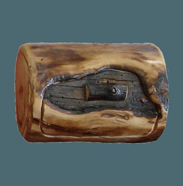 Aspen Log Jewelry Box Rustic Log Furniture of Utah