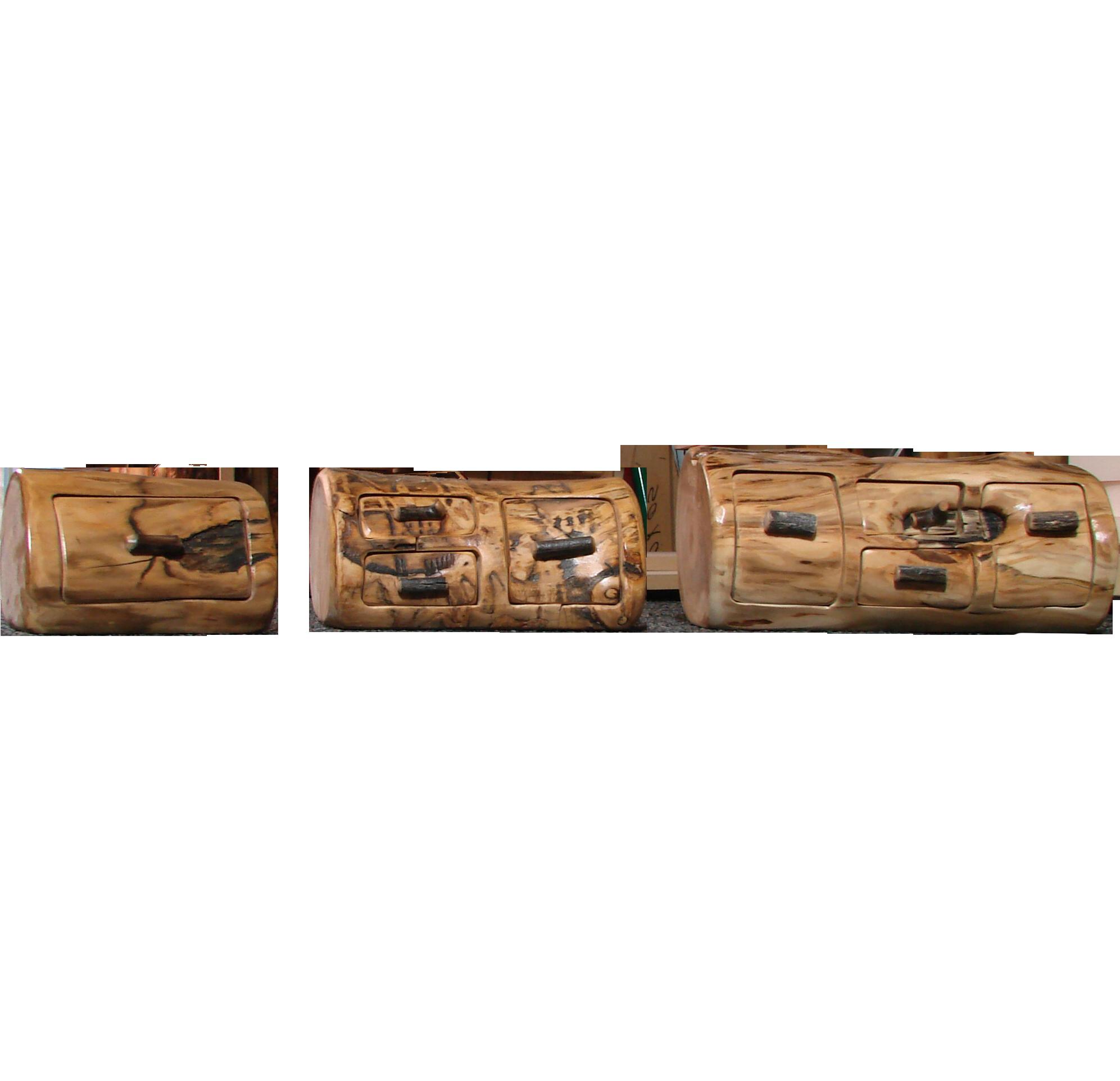 Jewelry cabinet rustic log furniture of utah for Hidden jewelry drawer