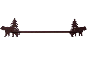 "18""W Bear Towel Bar"