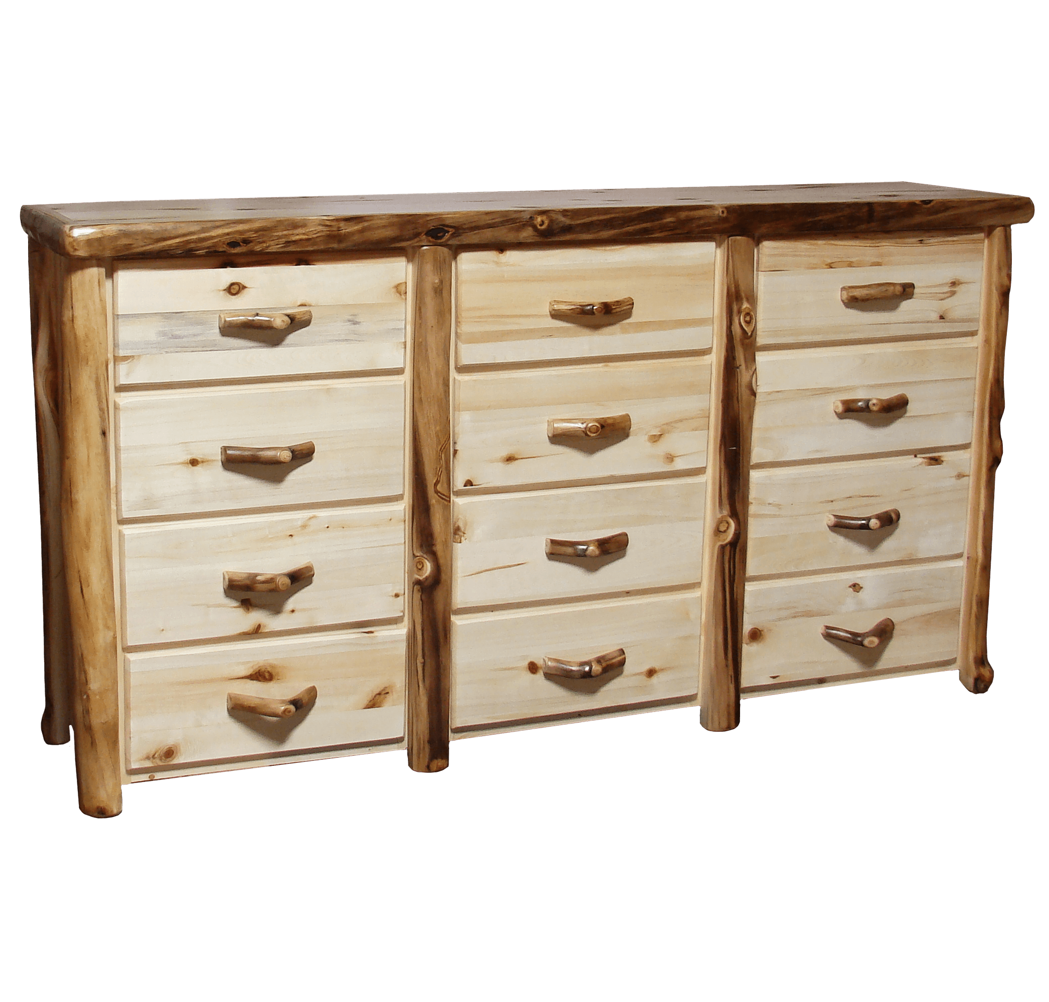 drawers small of cabins chest barns aspen drawer product wood furniture horse cupboard log