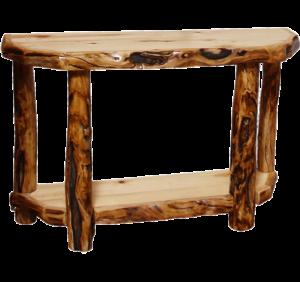 Wondrous Aspen Log Foyer Table Alphanode Cool Chair Designs And Ideas Alphanodeonline