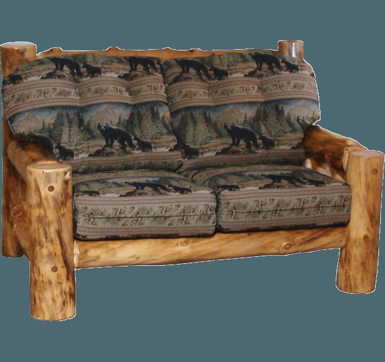 Aspen Log Frame Sofas | Rustic Log Furniture of Utah