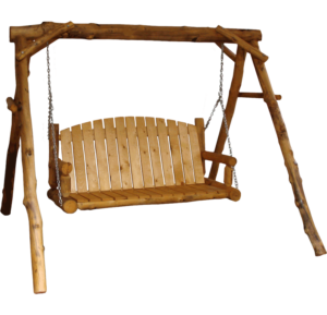 "Aspen Log Yard Swing - 60""W"