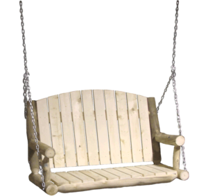 "Aspen Log Porch Swing - 48""W"