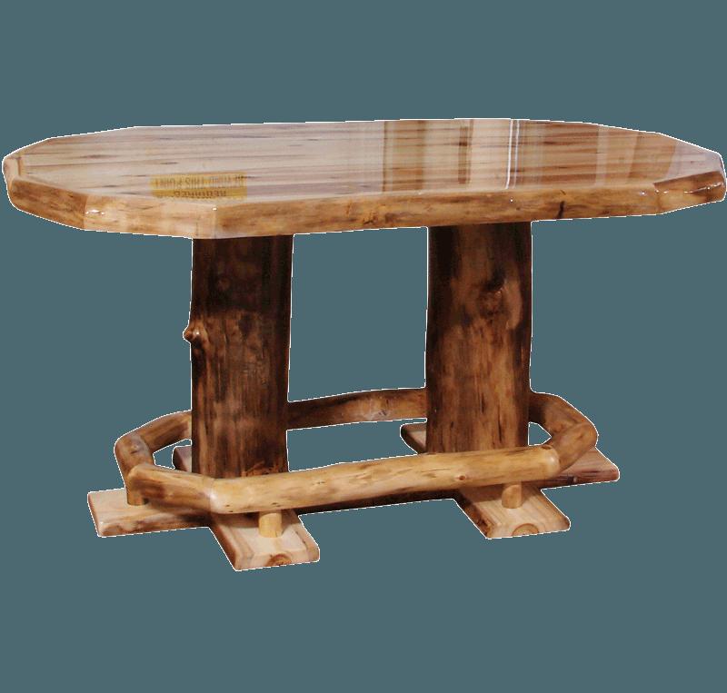 Log Dining Room Table: Rustic Log Furniture Of Utah