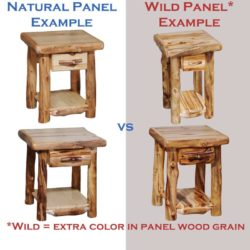 Groovy Hickory Log Sofa Table Alphanode Cool Chair Designs And Ideas Alphanodeonline