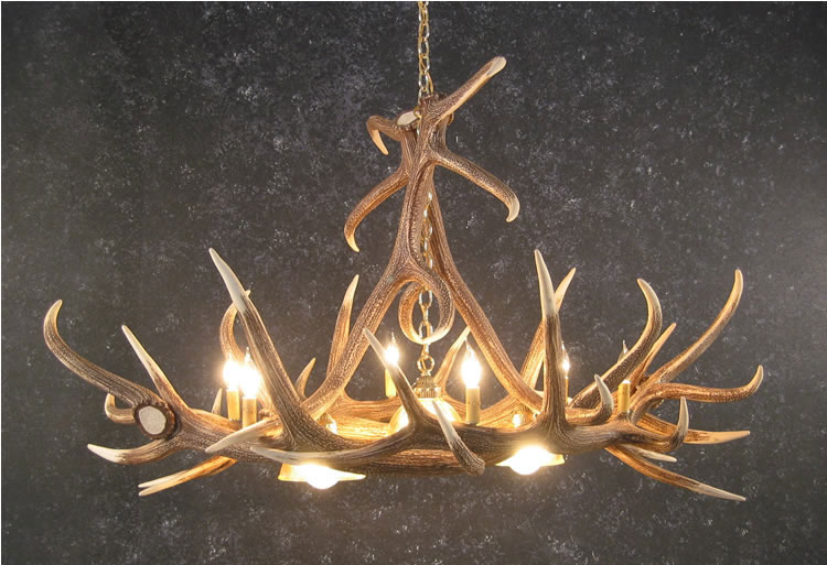 Elk Antler Chandeliers Rustic Log Furniture Of Utah