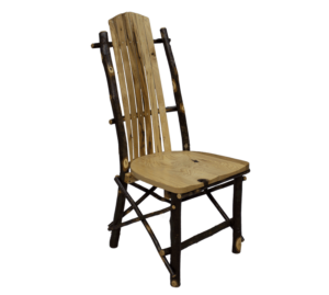 Hickory Log Legacy Side Chair